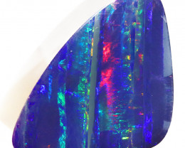 20.94 CTS   GREAT SIZE OPAL DOUBLET TOP FLASHES OF COLOUR S 1126