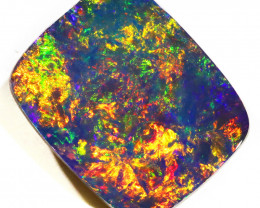 5.37 CTS   GREAT SIZE OPAL DOUBLET TOP FLASHES OF COLOUR S1137