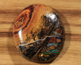 40.40ct -THE GREAT RED SPOT- Koroit Boulder Opal [21104]