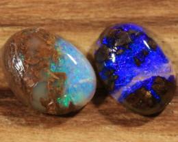 1.20ct-FRATERNAL TWINS- Koroit Boulder Opal [21119]