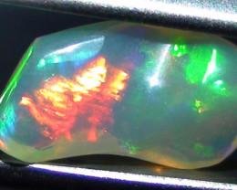 1.90 ct Ethiopian Gem Color Carved Free form Welo Opal *