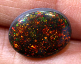 N1 -3.83 CTS QUALITY BLACK OPAL POLISHED STONE INV-1175