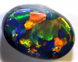 N2 - 2.74CTS QUALITY BLACK OPAL POLISHED STONE INV-1179