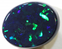 N 1-3.28 CTS QUALITY BLACK OPAL POLISHED STONE INV-1182