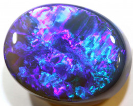 N 2-28.35 CTS QUALITY BLACK OPAL POLISHED STONE INV-1188