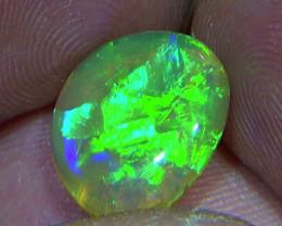 4.60 cts Ethiopian Welo CHAFF STRAW crystal opal N9 4,5/5