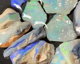 140 Carats of Solid/Natural Lightning Ridge Rough Black /Dark Opal, #236