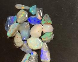 84 Carats of SELECT PARCEL Lightning Ridge Rough Nobby Opal, #249