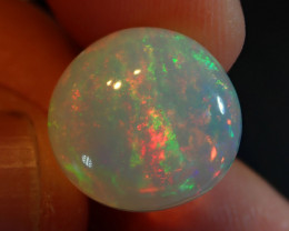 8.5ct   Blazing Round  Welo Solid Opal