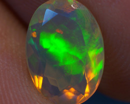 1.10 CT AAA Quality Faceted Cut Ethiopian Opal-BAF274