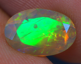 1.31 CT AAA Quality Faceted Cut Ethiopian Opal-BAF275