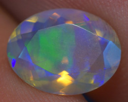 1.68 CT AAA Quality Faceted Cut Ethiopian Opal-BAF281