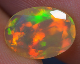 1.29 CT 11X8 MM AAA Quality Faceted Cut Ethiopian Opal-BAF282