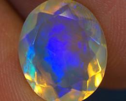 2.79 CT 12X10 MM AAA Quality Faceted Cut Ethiopian Opal-BAF289