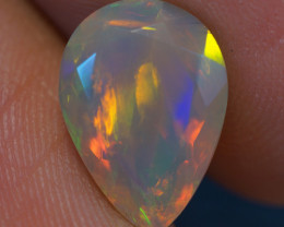 2.41 CT AAA Quality Faceted Cut Ethiopian Opal-BAF296
