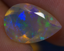 1.96 ct AAA Quality Welo Faceted Ethiopian Opal - BAF229