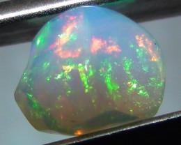1.30 ct Ethiopian Gem Color Carved Freeform Welo Opal