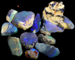 3760.00 CTS COLOURFUL OPAL ROUGH MINE RUN FROM LIGHTNING RIDGE[BRP153]