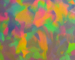 3.05 CRT STUNNING ABSTRACT PAINTING PATTERN COLORFUL WELO OPAL*35