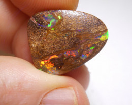 10.3ct Boulder Wood Fossil Polished Stone