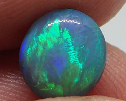 1.35CT SOLID LIGHTNING RIDGE BLACK OPAL  MI338