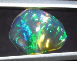2.15 ct Ethiopian Gem Color Carved Freeform Welo Opal