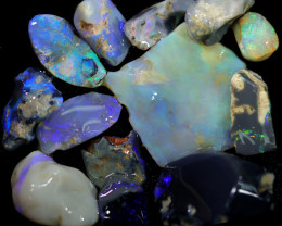 3975.00 CTS COLOURFUL OPAL ROUGH MINE RUN FROM LIGHTNING RIDGE[BRP159]