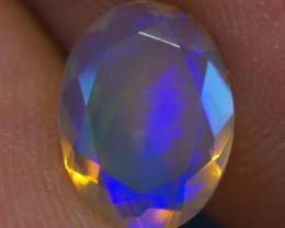 0.84 CT AAA Quality Faceted Cut Ethiopian Opal-BAF362