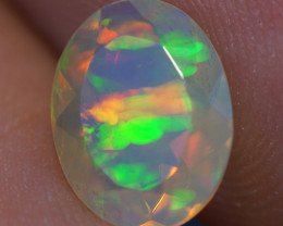1.28 CT AAA Quality Faceted Cut Ethiopian Opal-BAF368