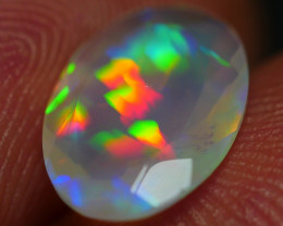 1.00 CRT BEAUTY FACETED PERFECT PUZZLE PATTERN WELO OPAL*K86