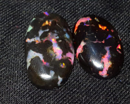 12.00 CRT ROLLING FLASH PATTERN POLISHED INDONESIAN OPAL WOO