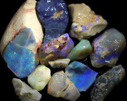 3380.00 CTS COLOURFUL OPAL ROUGH MINE RUN FROM LIGHTNING RIDGE[BRP172]