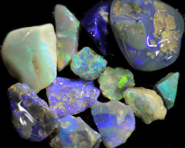 3395.00 CTS COLOURFUL OPAL ROUGH MINE RUN FROM LIGHTNING RIDGE[BRP173]