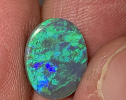 2.65 Carats, TOP GEM Lightning Ridge Black Opal, #265
