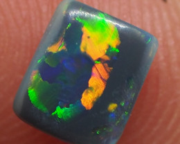 0.60CT BLACK OPAL  LIGHTNING RIDGE RE508