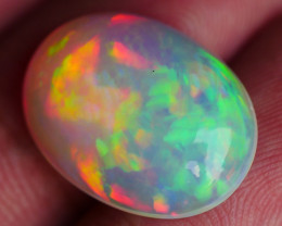6.30 CRT STUNNING PERFECT RIBBON PATTERN MULTICOLOR WELO OPAL-