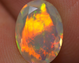 1.19 CT AAA Quality Faceted Cut Ethiopian Opal-BAF459