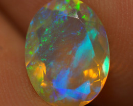 1.40 CT AAA Quality Faceted Cut Ethiopian Opal-BAF461