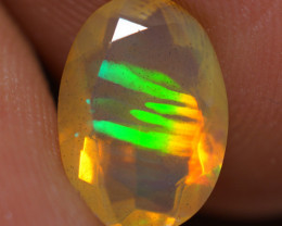 1.51 CT AAA Quality Faceted Cut Ethiopian Opal-BAF465