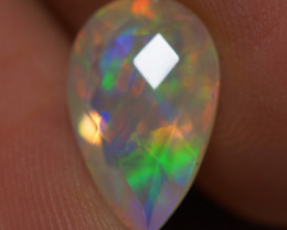 2.10 CT AAA Quality Double Sided Faceted Cut Ethiopian Opal-BAF480