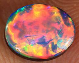 1.05ct Quality Lightning Ridge Opal Doublet [PDO-203]