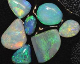 8.15cts Australian Soild Opal Lightning Ridge Rubs