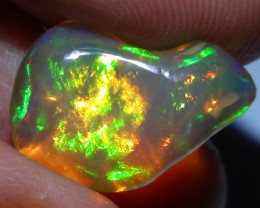 5.0 ct Ethiopian Gem Color Carved Free form Welo Opal *