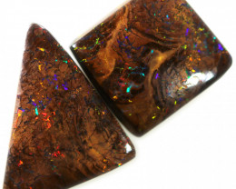 11.40 cts Two AmazingBoulder opal WS517
