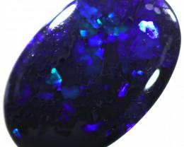 3.35 Cts Nice Black Opal,Deep Blue  N1   WS525