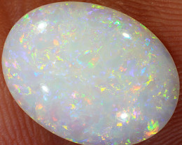 2.6ct 13x10mm Solid Coober Pedy White Opal [LO-1494]