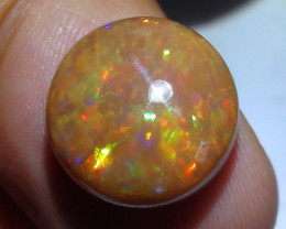 6.65 ct $1 NR Beautiful Honeycomb Multi Color Welo Cab M358