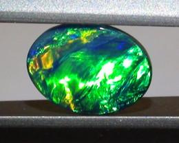 0.55 ct Doublet Opal Gem Multi Color