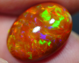 5.40 CRT DARK BASE BROWN ROLLING FLASH FLOWER PLAY COLOR WELO OPAL-