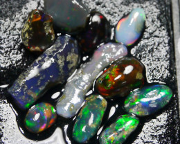 12.80 CT ROUGH and SEMI POLISHED Indonesian Parcel Opal Mix Opal